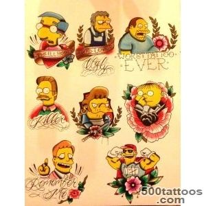 1000+ ideas about Simpsons Tattoo on Pinterest  Tattoos, Alex _11