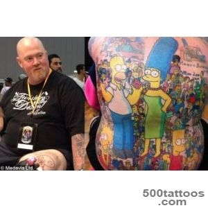 Giant Simpsons tattoo  Medavia_43