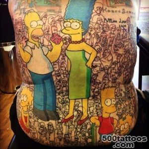 Man with over 200 tattoos of The Simpsons characters confirmed as _16