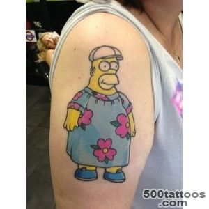 Pin Simpsons Tattoo On Tumblr on Pinterest_27