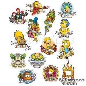 Pin Simpsons Tattoos Tattoo Art Gallery on Pinterest_33