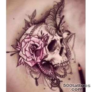 50 Cool Skull Tattoos Designs   Pretty Designs_46