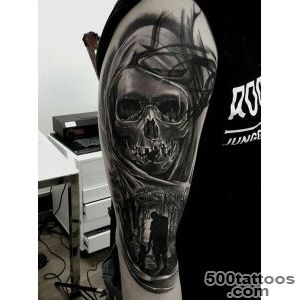 100 Awesome Skull Tattoo Designs  Art and Design_22