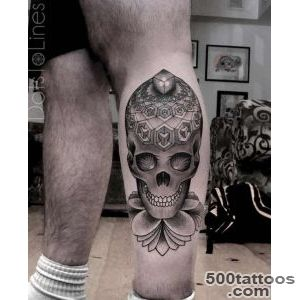 100 Awesome Skull Tattoo Designs  Art and Design_39