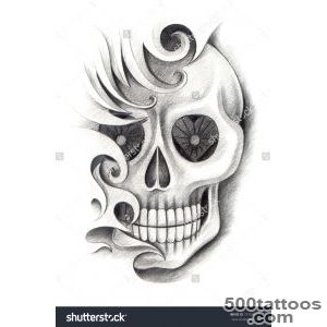Skull Tattoo Stock Photos, Images, amp Pictures  Shutterstock_31