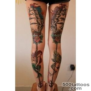 65 Really Unexpected Mermaid Tattoo Designs_47