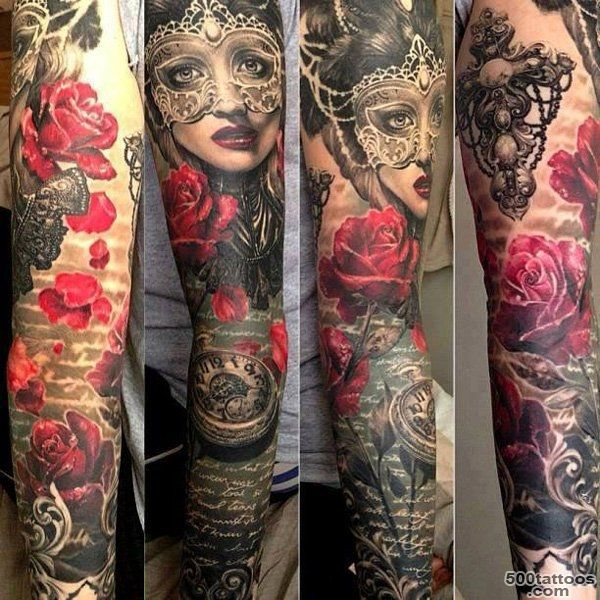 80+ Awesome Examples of Full Sleeve Tattoo Ideas  Art and Design_6