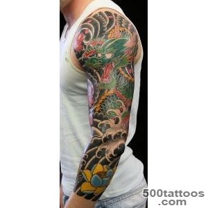 47+ Sleeve Tattoos for Men   Design Ideas for Guys_23