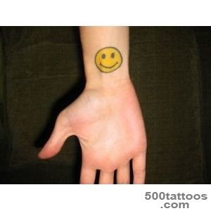 10 Scary and Silly Smiley Face Tattoo Designs_6