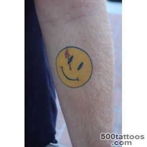 Pin Watchmen Smiley Tattoo The Comedian From In on Pinterest_40