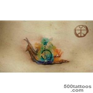 44 Snail Tattoos   Meanings, Photos, Designs for men and women_6