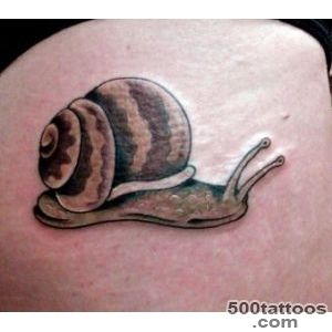 65+ Famous Snail Tattoos_5