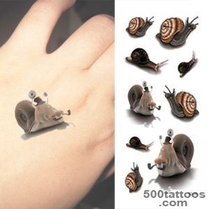 Popular Snail Tattoo Buy Cheap Snail Tattoo lots from China Snail _50