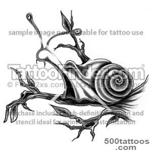 Snail Tattoo Images amp Designs_25