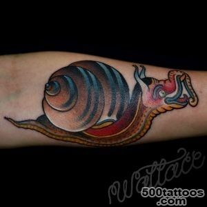 snail tattoo  RAYMOND WALLACE TATTOOING_26