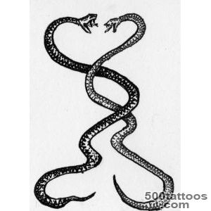 Snake tattoo design, idea, image