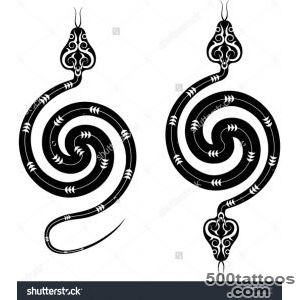 Snake Tattoo Stock Photos, Images, amp Pictures  Shutterstock_35