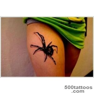 35 Spider Tattoos that will get you all tangled_14