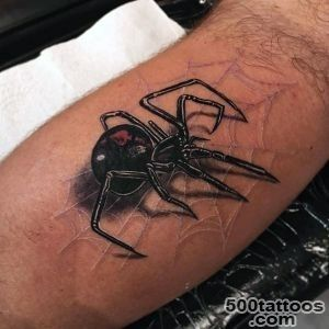 100 Spider Tattoos For Men   A Web Of Manly Designs_6