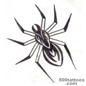 Pin Tribal Spider Tattoo Design Meaning Web on Pinterest_16