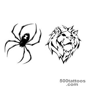 Pin Tribal Spider Tattoo Design Meaning Web on Pinterest_24