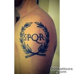 Tattoo SPQR shoulder  Tattoo  Pinterest  Tattoos and body art_11