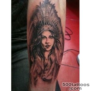 051bbcd9f head dress squaw indian girl pinup feathers tatoo Pinterest _27