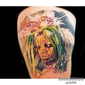 Squaw tattoo by Led Coult  No 1174_24