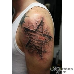 65 Beautiful Star Tattoo Designs (With Meaning)_4