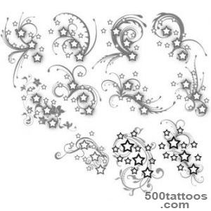 Tattoo stars on Pinterest  Star Tattoos, Star Tattoo Designs and _44