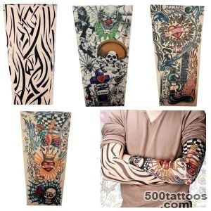 Buy Tattoo accessories 6pcspack Stretchy Fake Tattoo Sleeves Arm _ 31