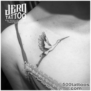 A Little About Stork Tattoos  Best Tattoo Ideas Gallery_3