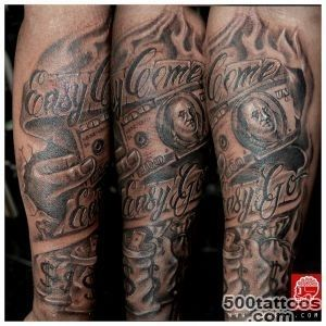Money Tattoos for Men   Dollar Tattoo Ideas for Guys_32