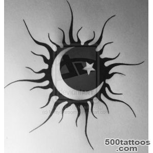Sun Tattoos, Designs And Ideas  Page 32_37