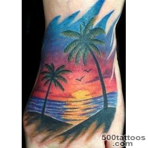 Delightful Sunset and Sunrise Tattoos  Tattoo Ideas Gallery _1