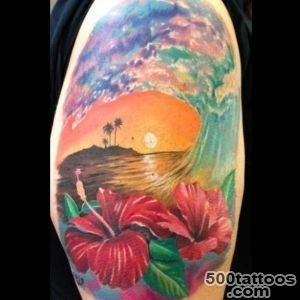 Delightful Sunset and Sunrise Tattoos  Tattoo Ideas Gallery _5