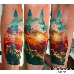 Over Clouds Sunset tattoo  Best Tattoo Ideas Gallery_28