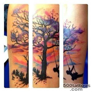 watercolor sunset tattoo  Tattoos  Pinterest  Sunsets _46