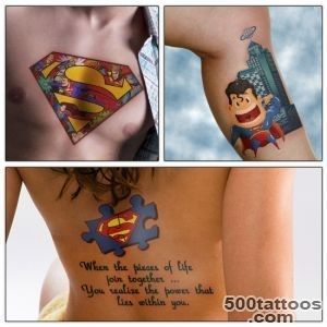 Awesome Superman Tattoo Design Ideas_48