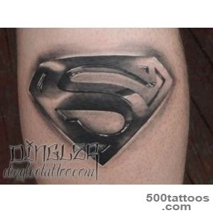 dinglersuperman superman tattoo black and grey_25