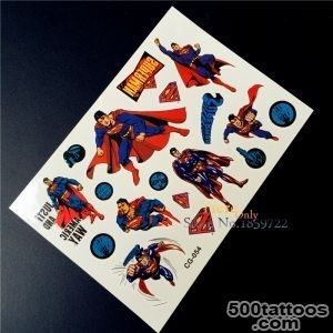 Online Buy Wholesale superman tattoos from China superman tattoos _39