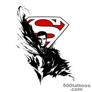 Superman tattoo design by p  O  wdeviantartcom on @deviantART _21