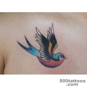 25 Wonderful Swallow Tattoo Collection  CreativeFan_18