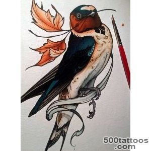 1000+ ideas about Swallow Tattoo Design on Pinterest  Swallow _15