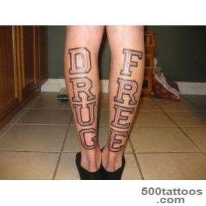DRUG FREE – Tattoo Picture at CheckoutMyInkcom_47JPG