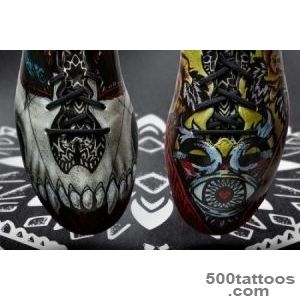 Adidas Adizero F50 unique sneaker with tatuirovkoy_42