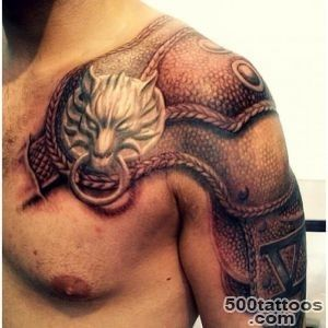 9 Best Armor Tattoo Images And Designs For Men_16
