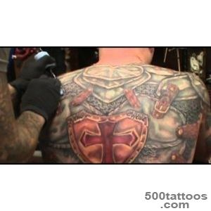 James Danger Harvey PresentsLargest Armor Tattoo in the world _36