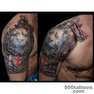 Shoulder Armor Tattoo For Men   Tattoes Idea 2015  2016_29