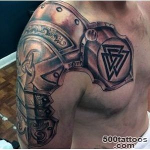 Top 90 Best Armor Tattoo Designs For Men   Walking Fortress_4